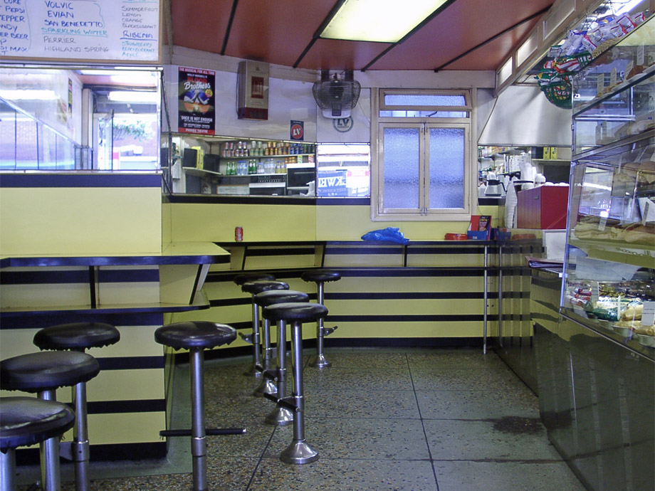 101 snack bar interior