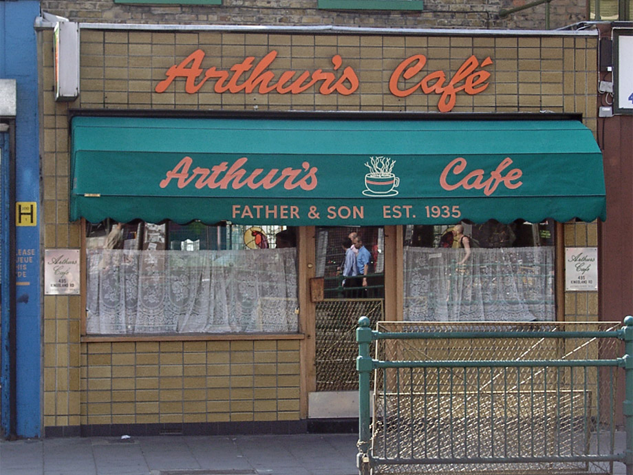 Arthur's Cafe, Bethnal Green
