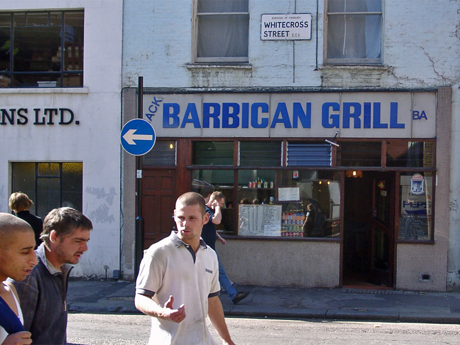Barbican Grill on Whitecross Street