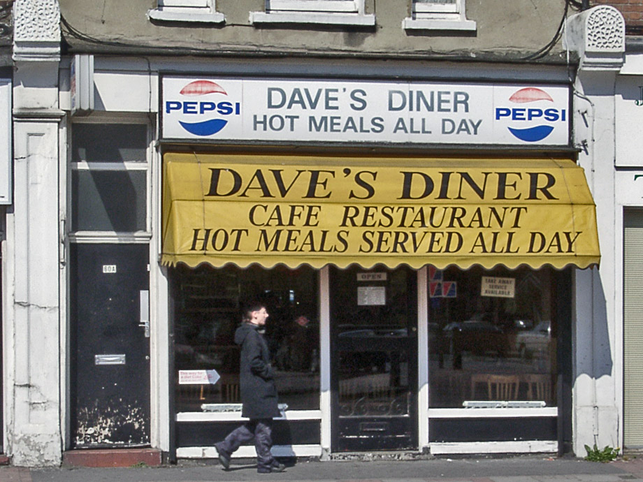 Dave's Diner, Battersea