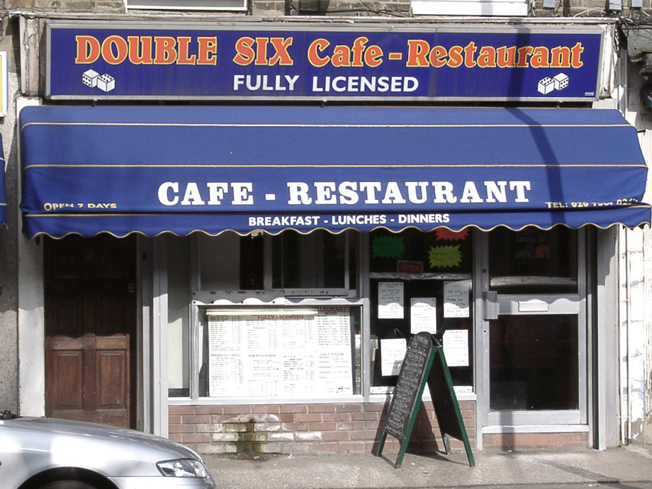 Double Six cafe, Eversholt Street