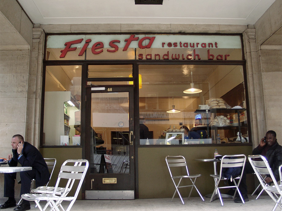 Fiesta cafe, Westminster