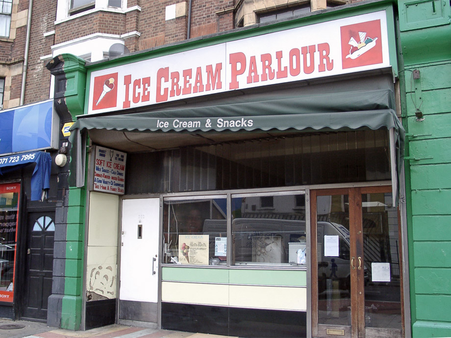 Ice Cream Parlour, Edgware Road