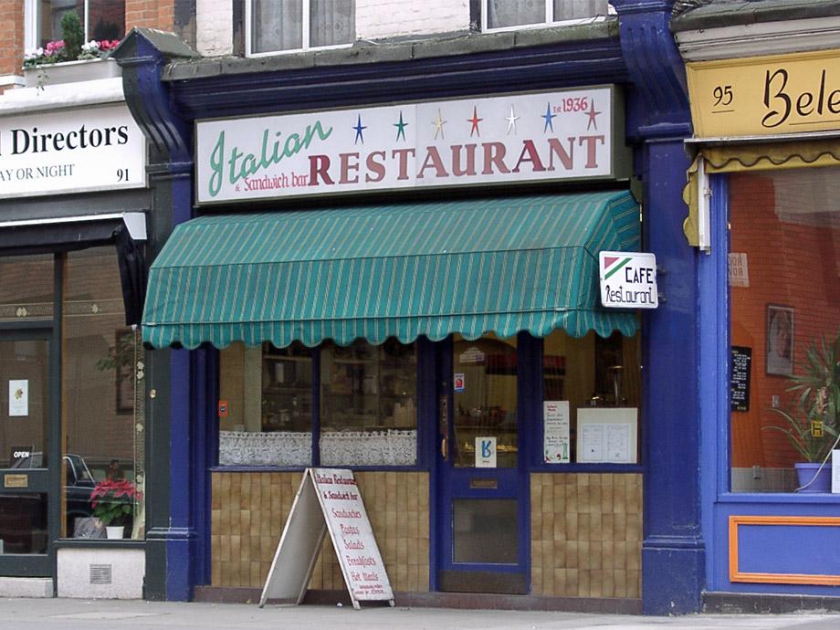 Italian Restaurant, Pimlico