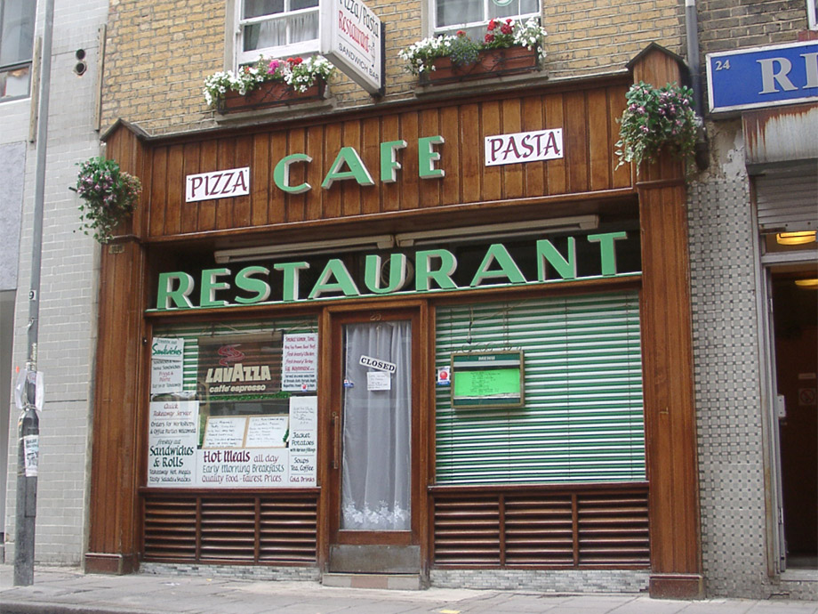 Cafe off Leather Lane