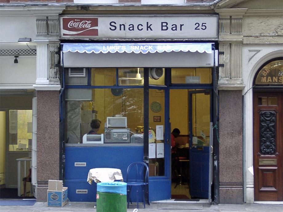 Luigi's cafe, Mount Pleasant