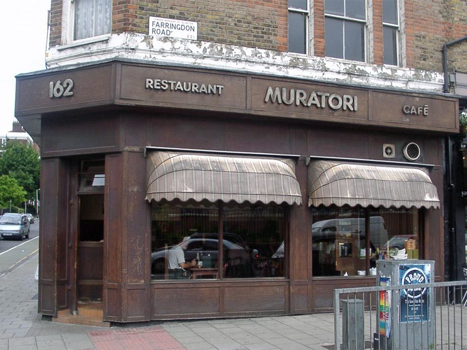Muratori cafe, Clerkenwell