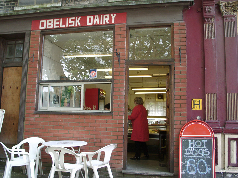 Obelisk Dairy, north Lambeth