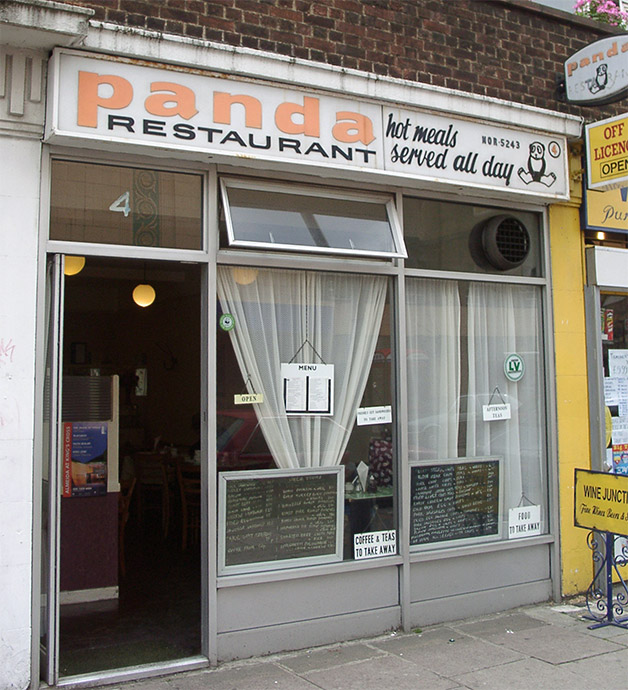 Panda Cafe, Holloway Road