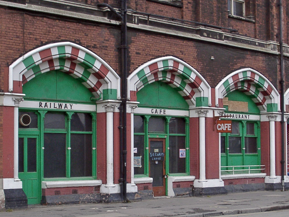 Railway Cafe, Kings Cross