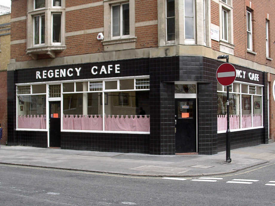 Regency cafe, Westminster