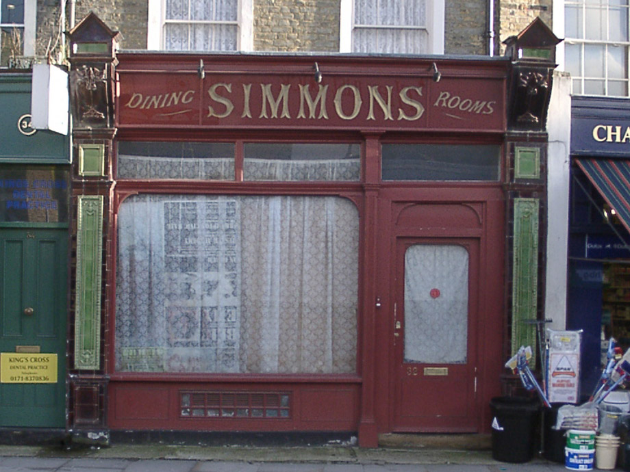 Simmons cafe, Caledonian Road