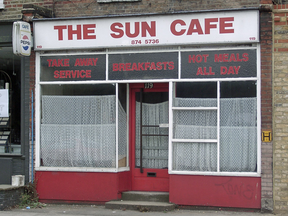 The Sun cafe, Wandsworth