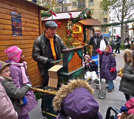 Paris Christmas market by Des Coulam