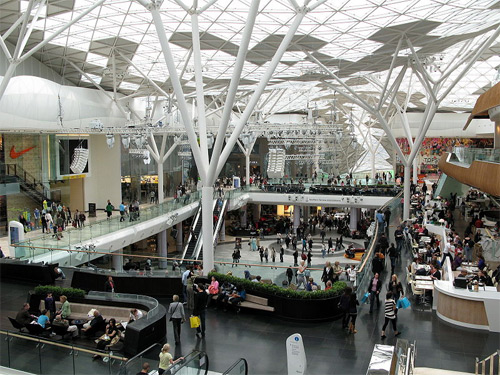 Westfield shopping mall