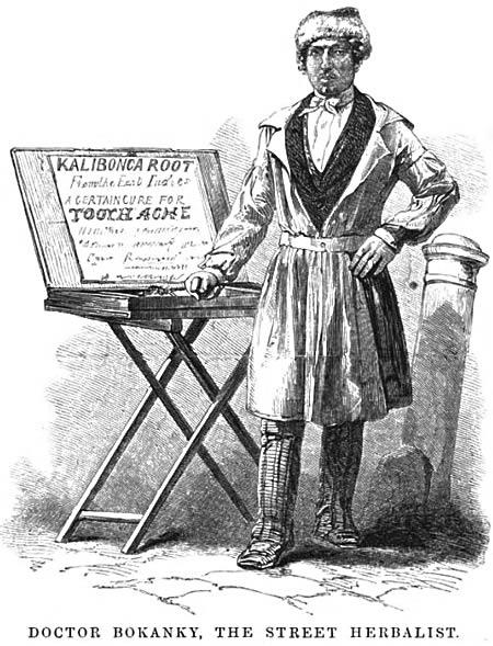 Doctor Bokanky, street herbalist