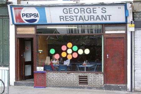 George's Restaurant, York Way