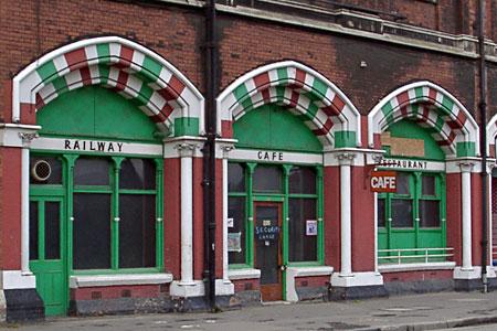 Railway Cafe, St Pancras