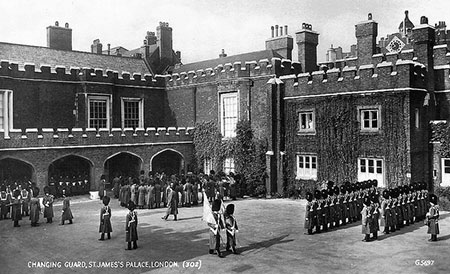 Friary Court, St James's Palace