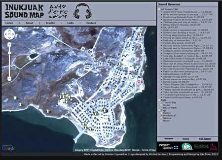 Inukjuak Sound Map