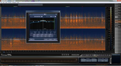 Izotope RX2 screenshot
