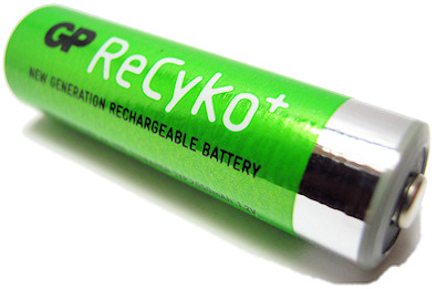 ReCyKo batteries and charger