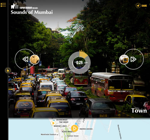 Sounds of Mumbai website screenshot