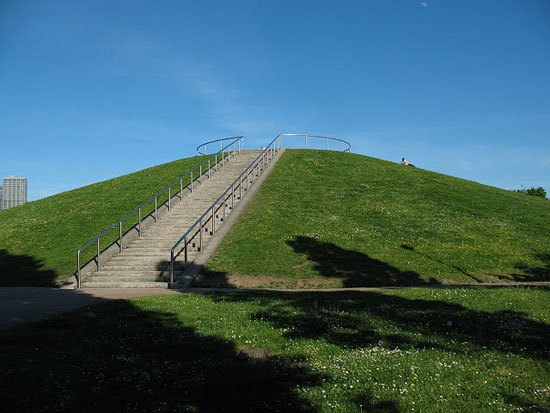 Photograph of Stave Hill