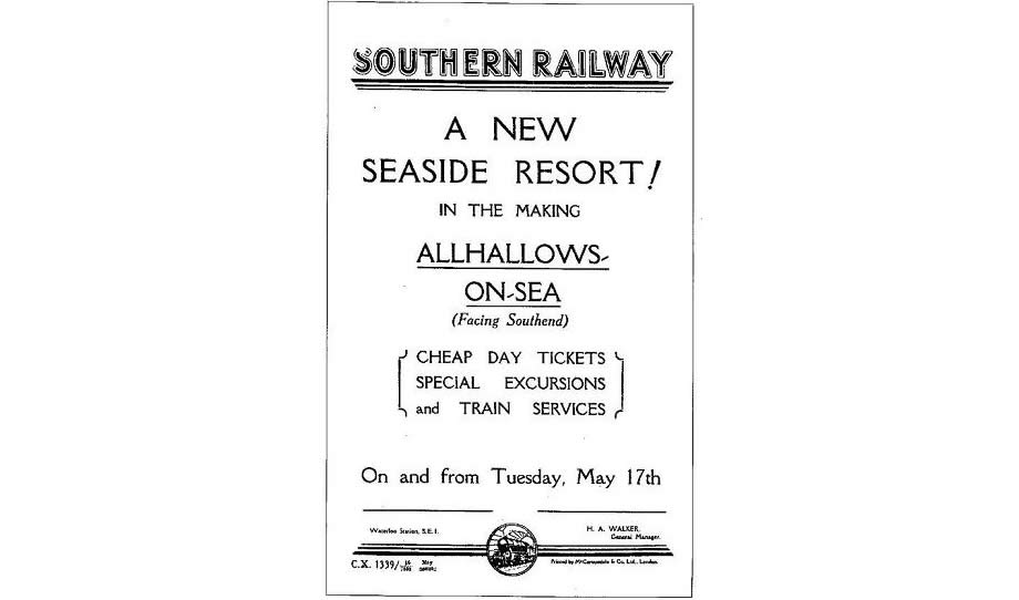 Southern Railway poster from 1932.
